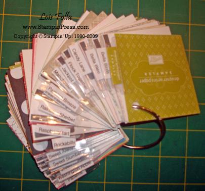 DS Paper Sampler w tabs sm wm