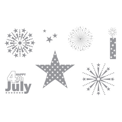 2010 06 Fourth of July Stamp Set