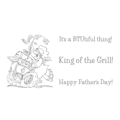 2010 06 King of the Grill Stamp Set