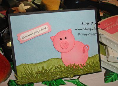 Piggy Front 10