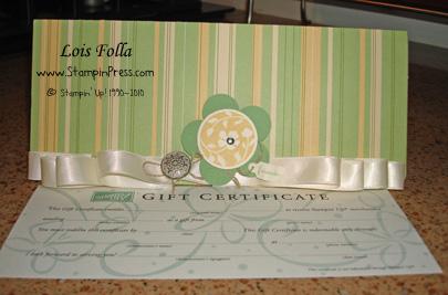 Gift Certificate ljf 01