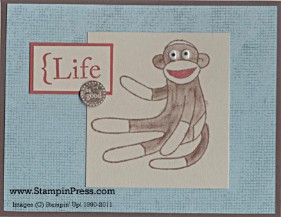 Sock Monkey 09 ljf