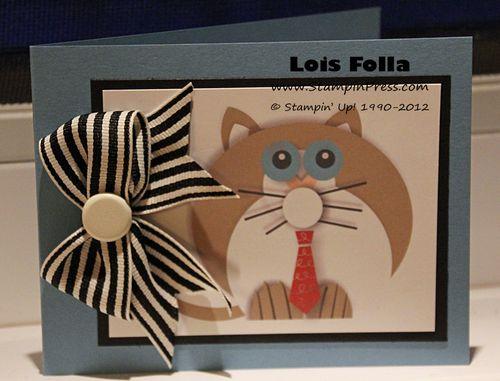 Cat Claws Card loisfolladotcom