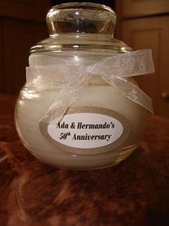 Folla_50th_anniversary_favors_candl